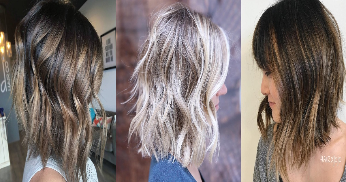18 Long Choppy Bob Hairstyles For Brunettes And Blondes Hairs London