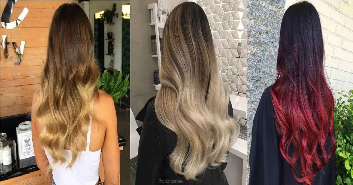 25 Best Ombre Hair Color Ideas For Blond Brown Red And Black Hair