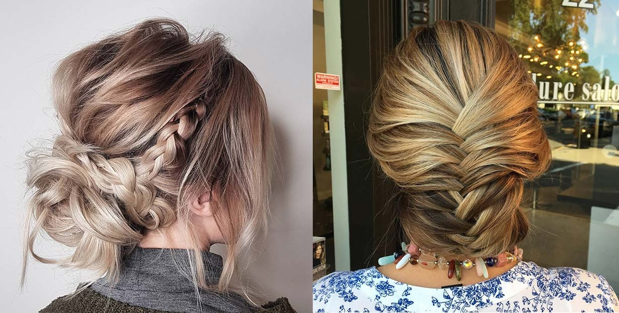 21 Beautiful Braided Updo Ideas for Holidays