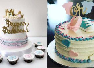 21-Cute-and-Fun-Gender-Reveal-Cake-Ideas