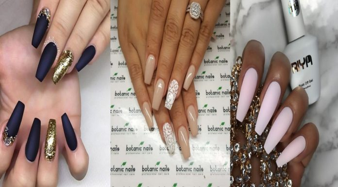 24-Awesome-Coffin-Nail-Designs-You'll-Flip-For