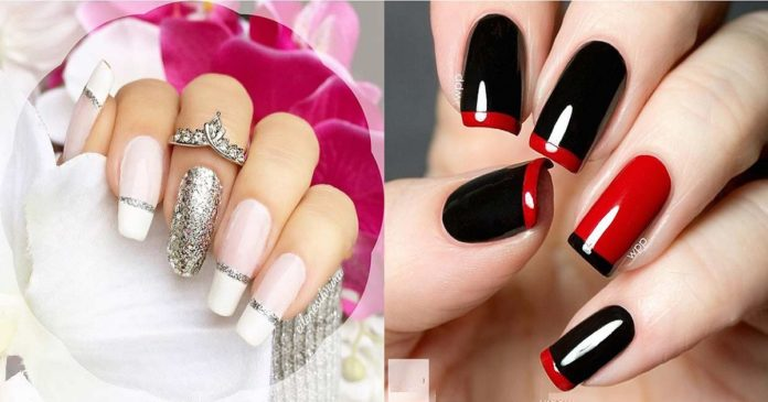 31-cool-french-tip-nail-designs