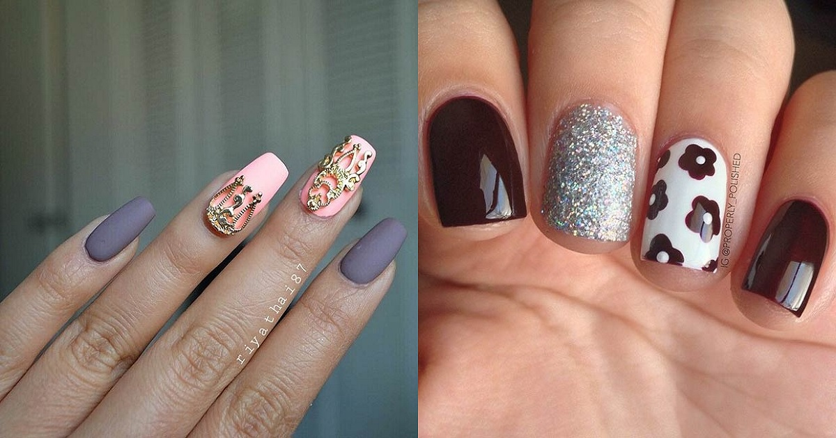 50 Best Nail Art Designs from Instagram | Hairs.London