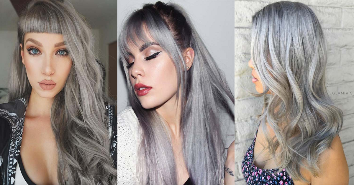 How To Wear Grey Hair Silver Hair Color Ideas Hairslondon