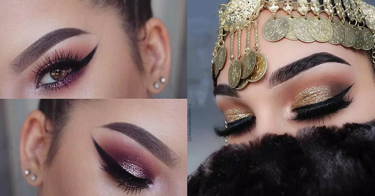 19 Coloured Eye Makeup Ideas For Brown Eyes Hairslondon
