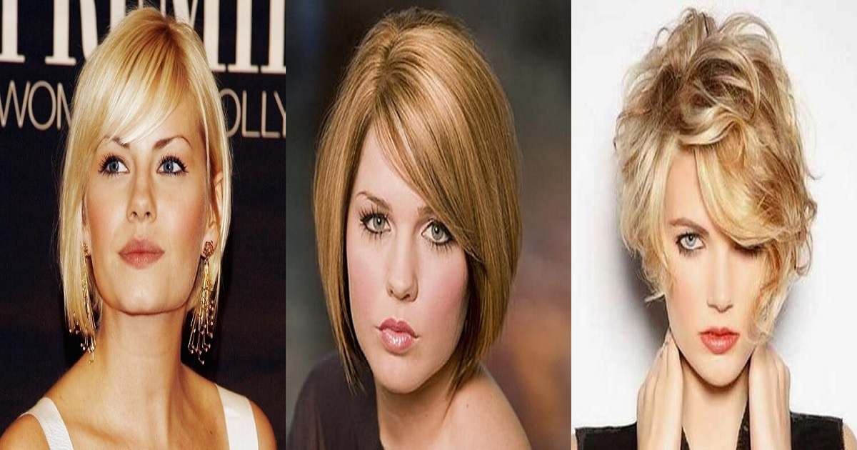 48 Remarkable Short Haircuts For Round Faces Hairs London
