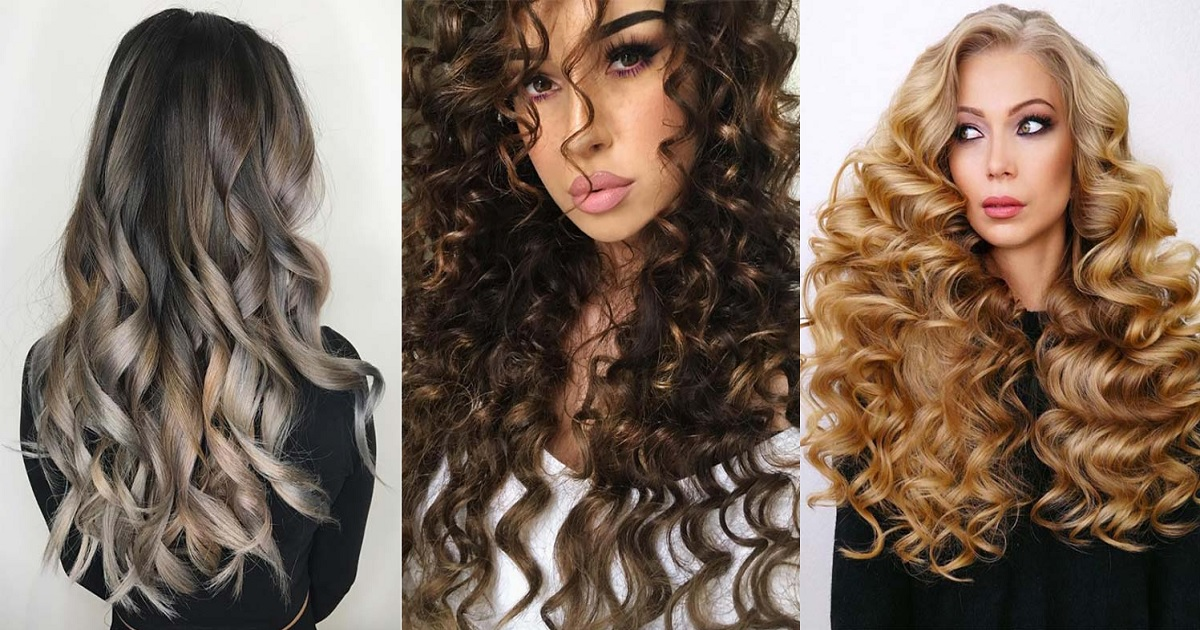 49 Chic Long Curly Hairstyles: How to Style Curly Hair ...