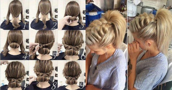 56-DIY-Easy-Updos-for-Medium-Hair