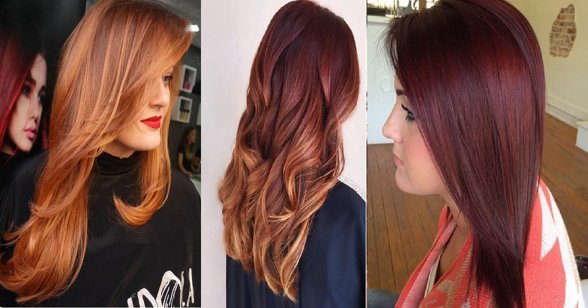Red Hair Color Ideas With Highlights