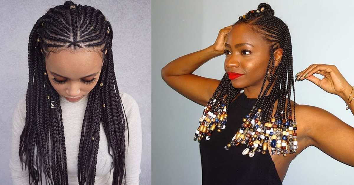 23 Badass Tribal Braids Hairstyles to Try