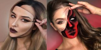 23-Trippy-Illusion-Makeup-Looks-for-Halloween
