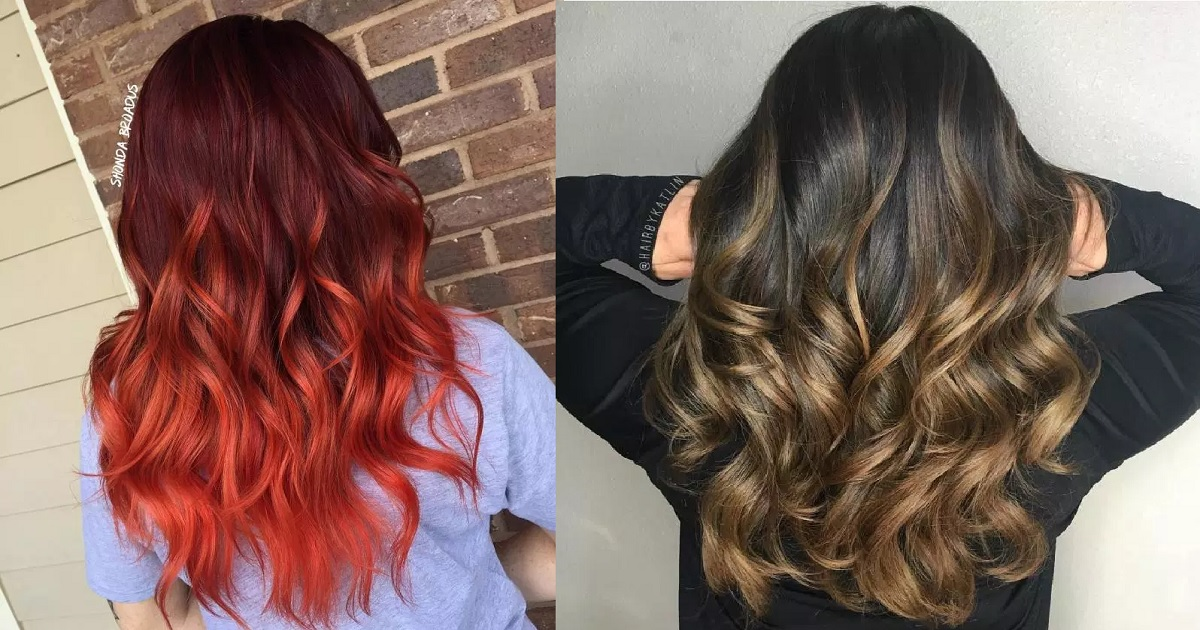 40 Best Ombre Hair Color Ideas For Blond Brown Red And Black Hair Hairs London