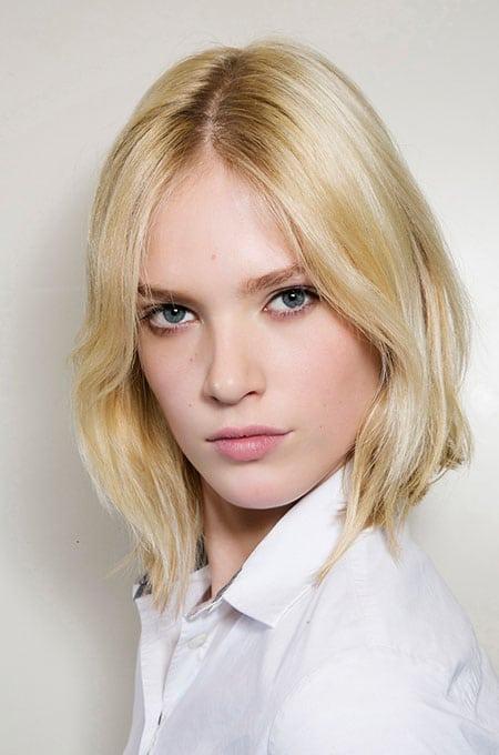 1. Lob for Thin Hair