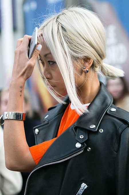10. Low Ponytail Hairstyle