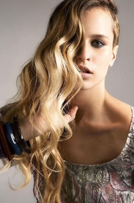 11. Long Hair with Undercut