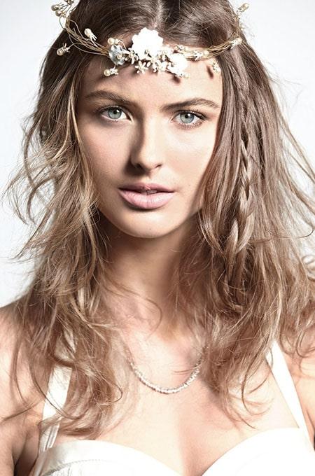 14. Boho Hairstyle with Braid