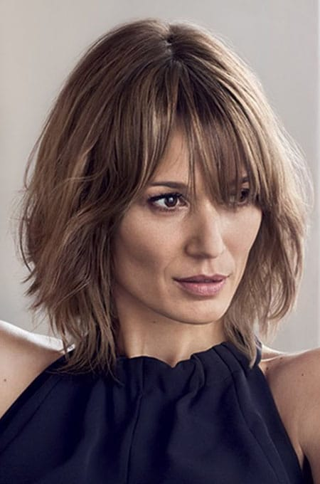 14 Long Bob With Bangs Hairs London