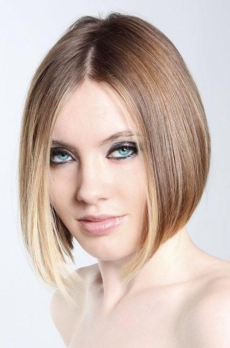 2. A-Line Bob Haircut