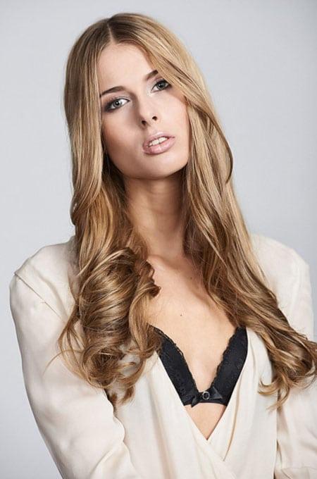 2. Long Glamour Curls