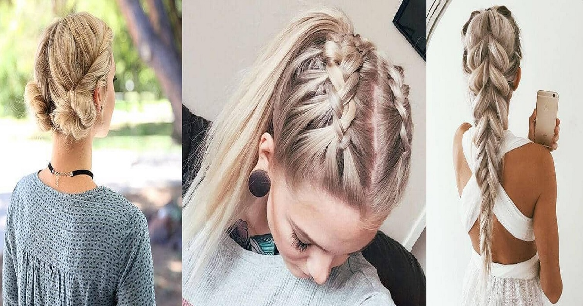 Remarkable 27 Most Beautiful Braided Hairstyles Hairs London Natural Hairstyles Runnerswayorg