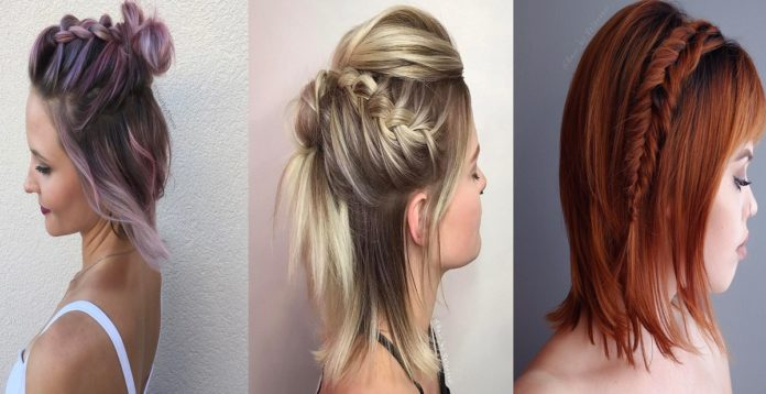 29 Swanky Braided Hairstyles To Do On Short Hair