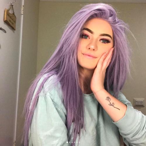 30 Lavender Hair Ideas 1