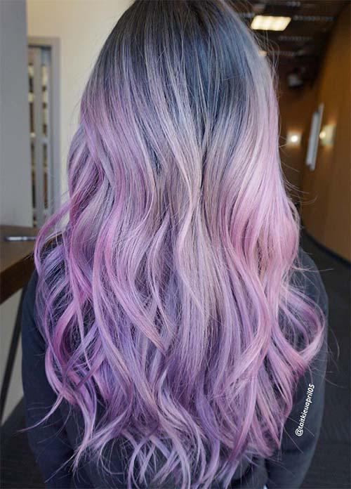 30 Lavender Hair Ideas 14