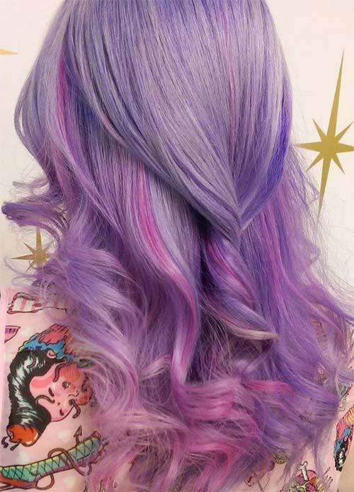 30 Lavender Hair Ideas 16