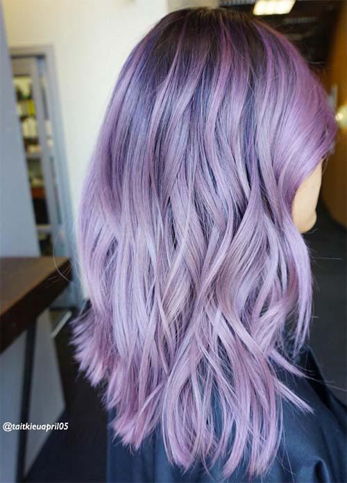 30 Lavender Hair Ideas 17