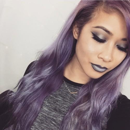 30 Lavender Hair Ideas 21