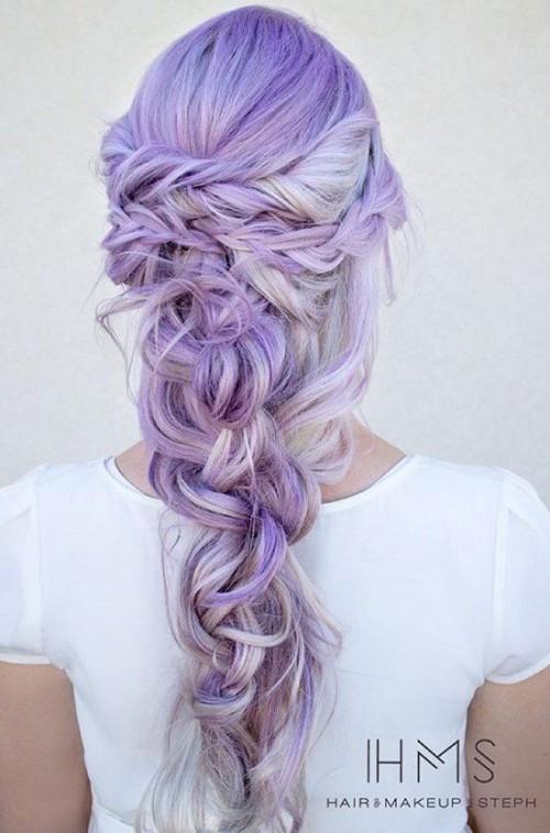 30 Lavender Hair Ideas 24