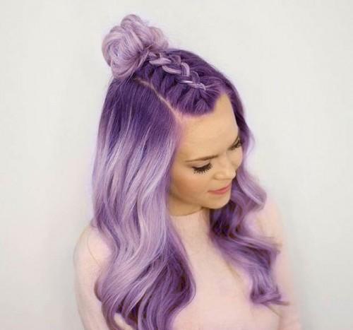 30 Lavender Hair Ideas 27