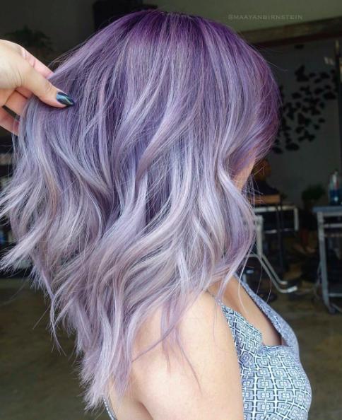 30 Lavender Hair Ideas 28