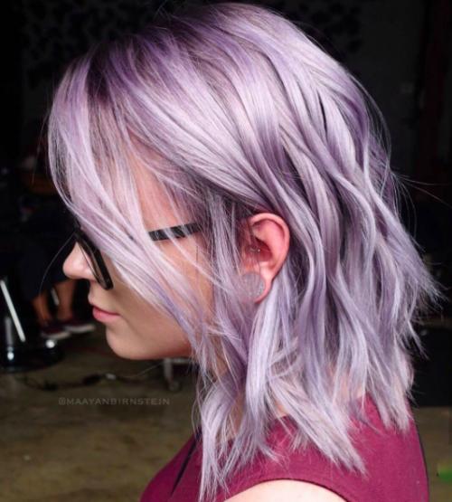 30 Lavender Hair Ideas 29