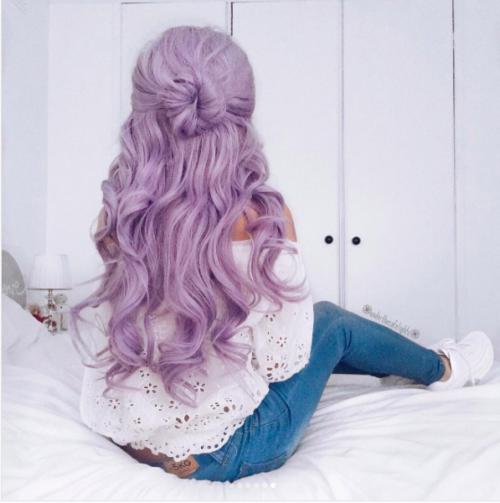 30 Lavender Hair Ideas 3