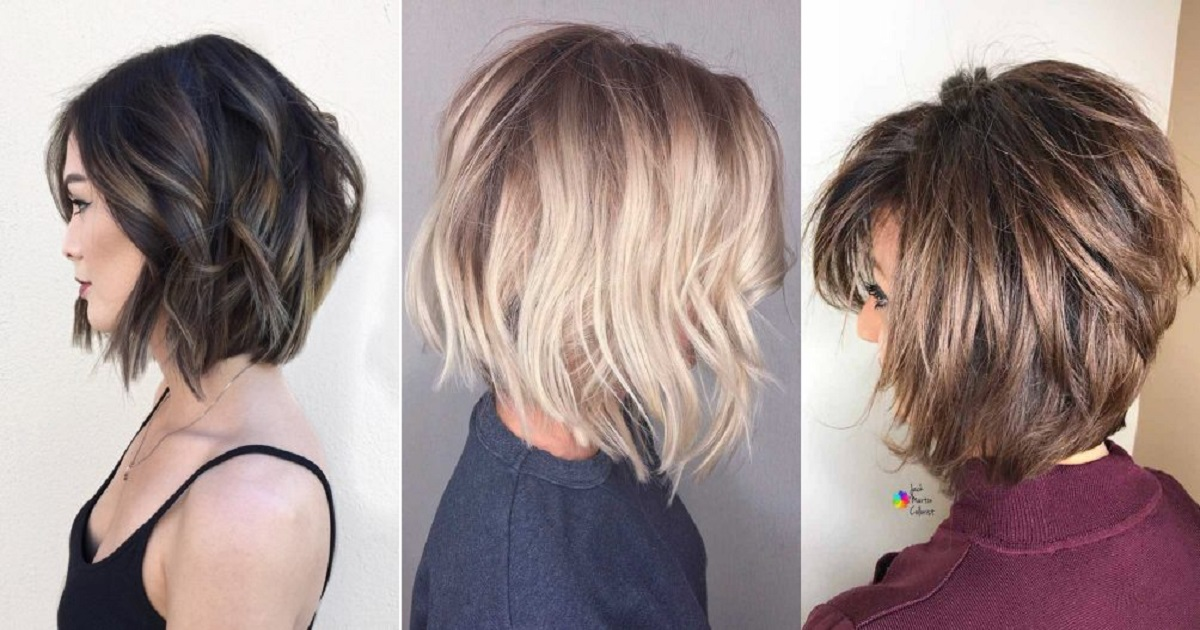 Hairstyles 2019: 40 TOTALLY TRENDY LAYERED BOB HAIRSTYLES FOR 2019