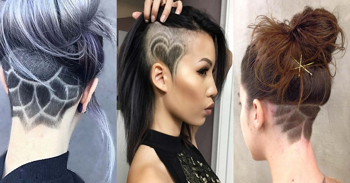 45 Undercut Hair Tattoo Ideas For Girl Hairs London