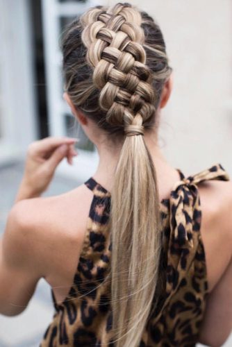 5-Strand Braided Ponytail #braids #ponytail