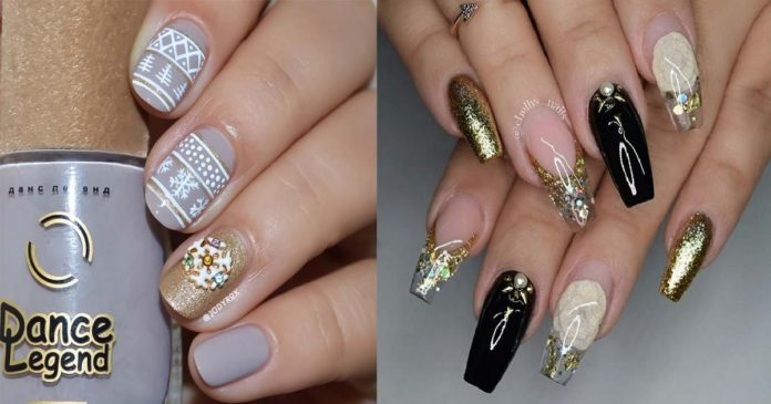 53-Sparkling-Holiday-Nail-Art-Designs-To-Try-This-Christmas