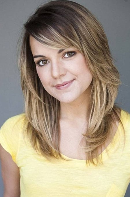 6. Side Bangs and Layers