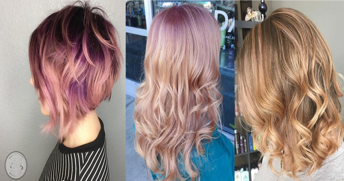 65 Rose Gold Hair Color Ideas Instagram S Latest Trend Hairs London
