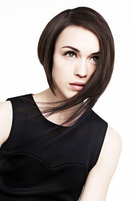7. Asymmetric Bob Haircut