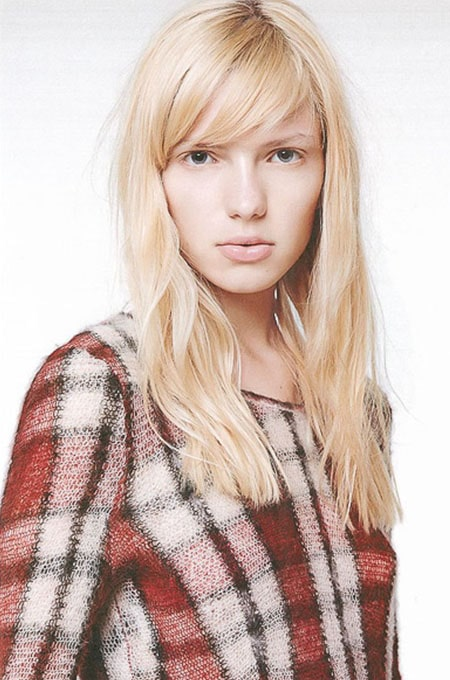7. Long Hair with Side Fringe