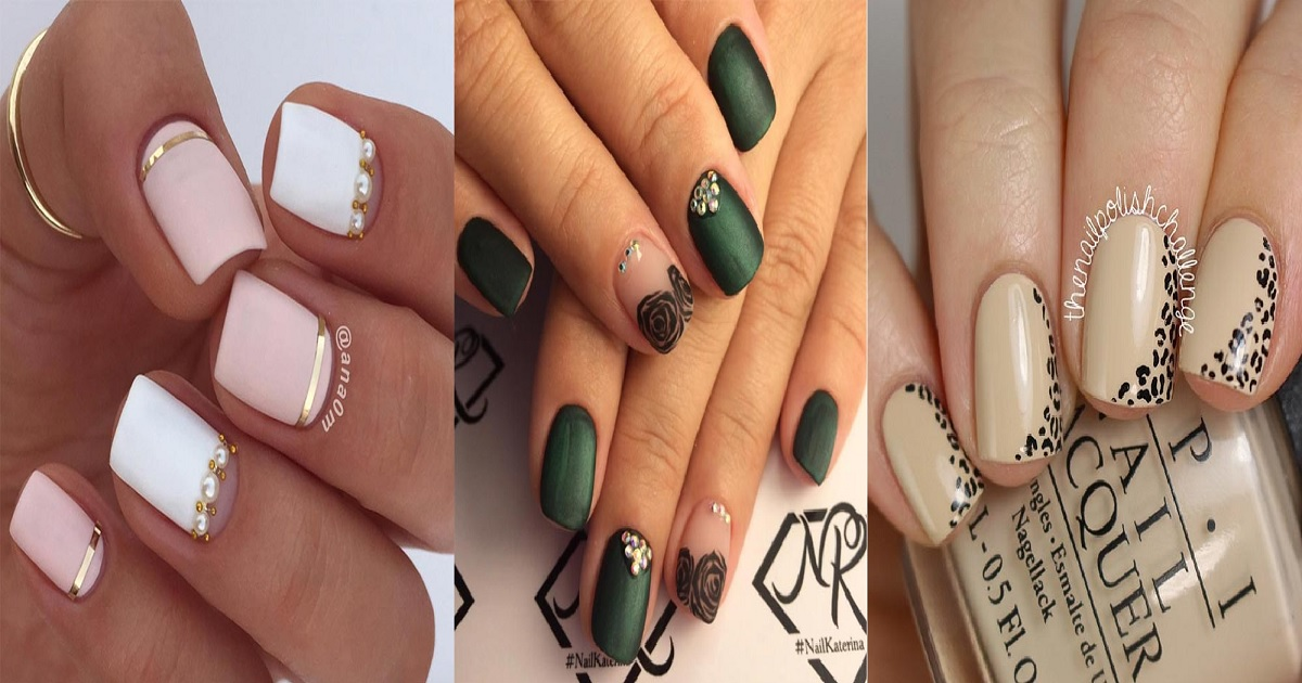 76 Classy Nail Art Designs For Short Nails Hairs London