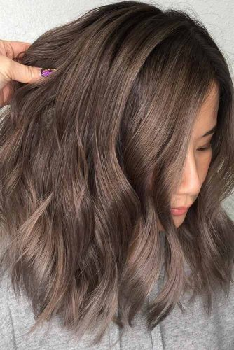 Ash Brown Ideas for Medium Hair Length picture1