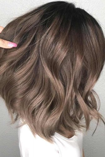 Ash Brown Ideas for Medium Hair Length picture2