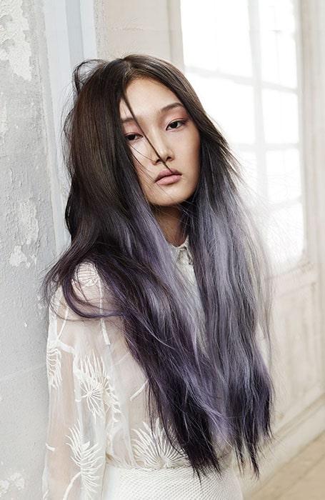 Ash Purple Balayage