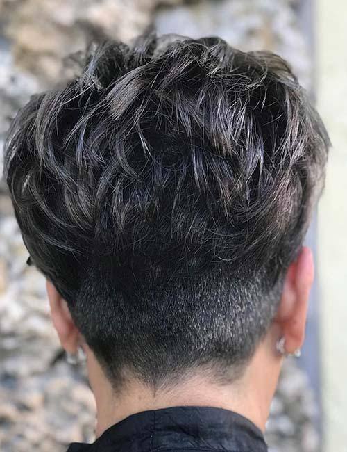 Back Layered Pixie