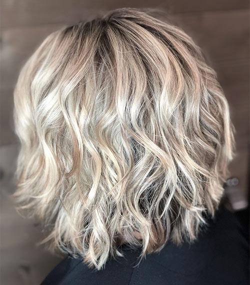 Beachy Waves Inverted Bob