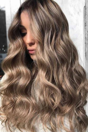 Beautiful Ash Brown Hair Ideas for Long Hair picture2
